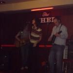 Ant - guitar, Gav - vocals, Stu - mandolin
