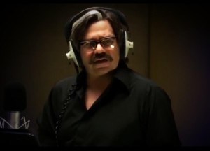 """I hear you Clem Fandango"" - Gav records his vocals"